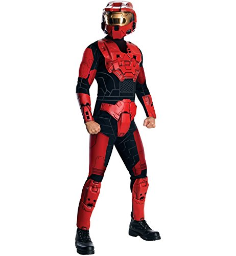Halo Deluxe Red Spartan Costume Adult Standard -
