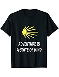 Adventure is a State of Mind Camino de Santiago t-shirt