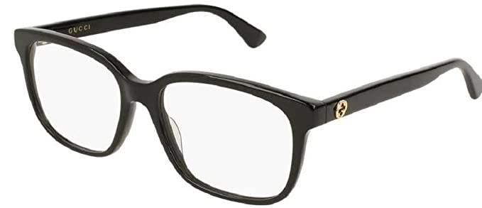 653cff0d0a Image Unavailable. Image not available for. Colour  Gucci GG0330O 001  Eyeglasses