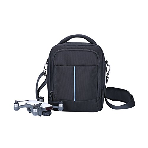 Lykus S1 Bag for DJI Spark or Ryze Tello, Perfectly Fit DJI Spark Fly More Combo and More Items, 3-in-1 Case/Shoulder Bag/Cross-Body Bag