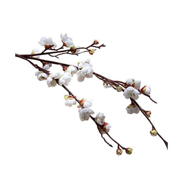 YJYdada-Artificial-Fake-Flowers-Plum-Blossom-Floral-Wedding-Bouquet-Home-Decor