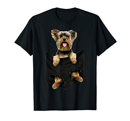 Yorkshire Terrier Pocket Mid T Shirt ()