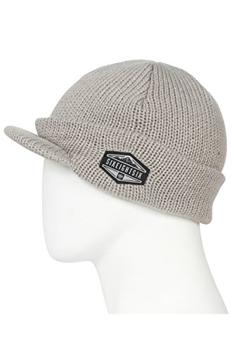 686 Men's Recon Visor Beanie | One-Size | Grey