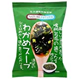 Kuii seaweed soup 10 crunchy additive-free freeze-dried Naruto seaweed stand out (instant seaweed soup) (Cosmos food)