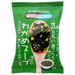 Kuii seaweed soup 10 crunchy additive-free freeze-dried Naruto seaweed stand out (instant seaweed soup) (Cosmos food) by Earthink