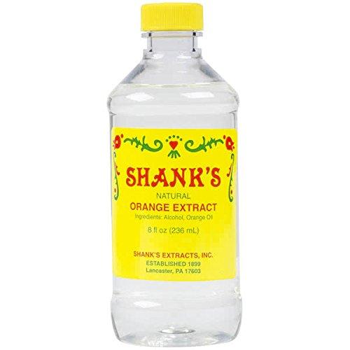 Shank's 8 oz. Pure Orange Extract -
