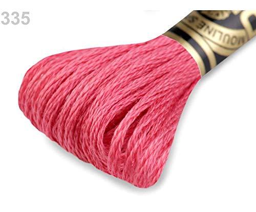 1pc 335 Pink Lemonade Embroidery Yarn Dmc Mouliné Spécial Cotton, Mouline, Knitting, Crochet, Haberdashery