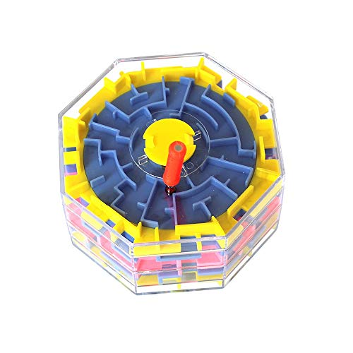 Girl Whirligig - Pkjskh 3D Stereo Changeable Maze Children's Cube Educational Maze Toy Whirligig Maze Changeable Route Boy Girl Parent-Child Interaction Walk The Ball Maze All Ages Changeable Maze Toys