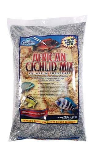 Carib Sea ACS00222 African Sahara Sand for Aquarium, 20-Pound Eco Complete Cichlid Sand