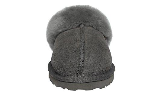 SLPR Womens Sheepskin Fernie Slipper Grey