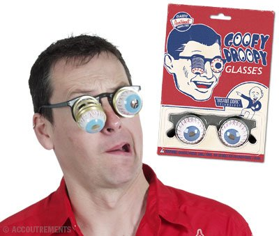 Goofy Droopy Glasses ()