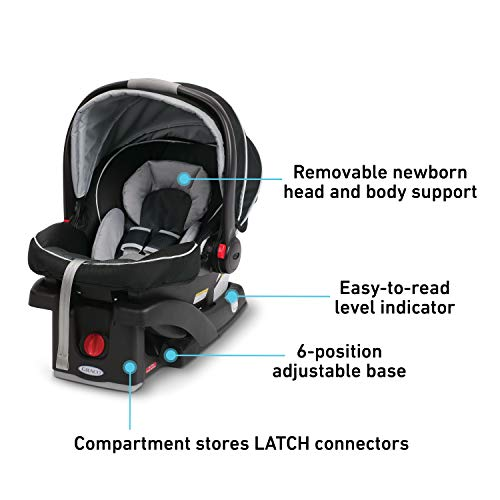 Graco SnugRide Click Connect 35 Infant Car Seat, Gotham