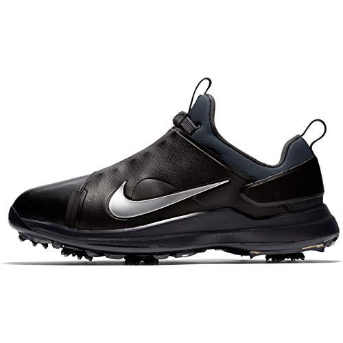 (Nike Tour Premiere Golf Shoes 2018 Black/Metallic Silver/Anthracite Medium 9)