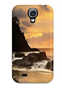 For Charles C Lee Galaxy Protective Case, High Quality For Galaxy S4 Beach Skin Case Cover