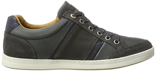 Pantofola d'Oro Men's Mondovi Uomo Low Trainers, Brown Grey (Dark Shadow)