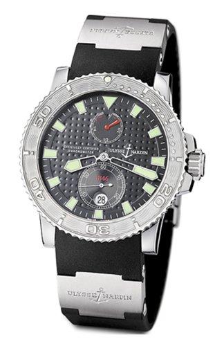Ulysse Nardin 263-33-3/92 - Reloj de Pulsera Hombre, Caucho: Amazon.es: Relojes