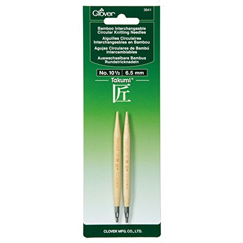 Aguja Circular Intercambiable Clover Takumi Bamboo  - 10.5