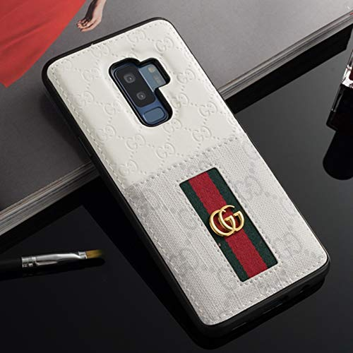 Galaxy S9 Case- US Fast Deliver Guarantee FBA- Elegant Luxury PU Leather Designer Case with Card Holder Slot Cover for Galaxy S9