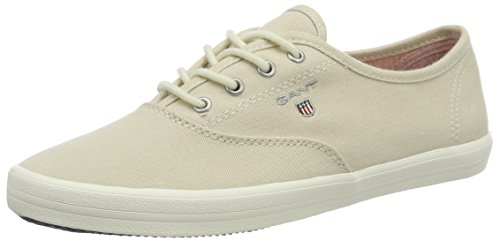 Gant Damen New Haven Sneaker Beige (stucco Beige Crema)
