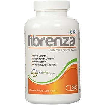 Amazon Com Hcp Formulas Fibrenza Systemic Enzyme 500
