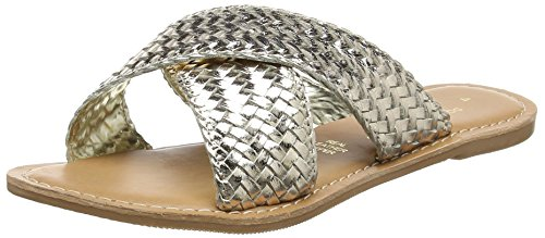 Perkins Ouvert Femme 210 gold Or Barbados Dorothy Bout Sandales 7I67dq