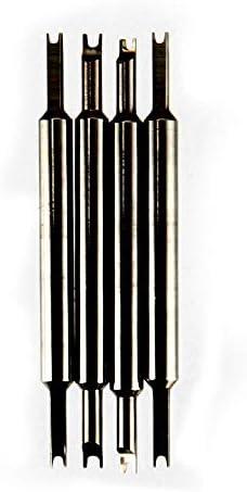 8 ピン + 腕時計ブレスレット春バー標準プライヤーリムーバー削除ツール交換 LB88-Black