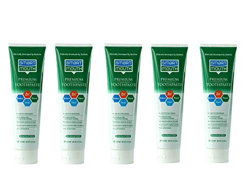 SmartMouth Premium Toothpaste for Elite Oral Health Protection, 6 oz, 5-Pack