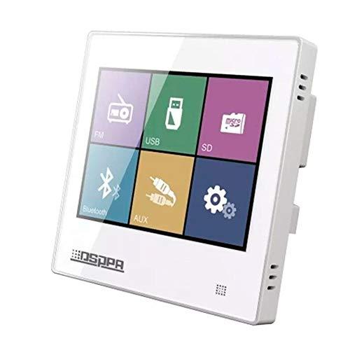 Amplificador de Parede DMD DM837 Touchscreen Bluetooth, USB, MicroSD, FM