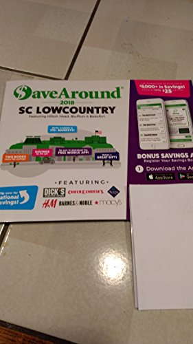 2018 Save Around Coupon Book - SC Low Country featuring Hilton Head, Bluffton, and Beaufort, - Store Bluffton