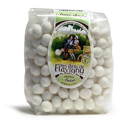 L'Abbaye de Flavigny Anise Drops - French Hard Candy - Large Bag 8.8 oz