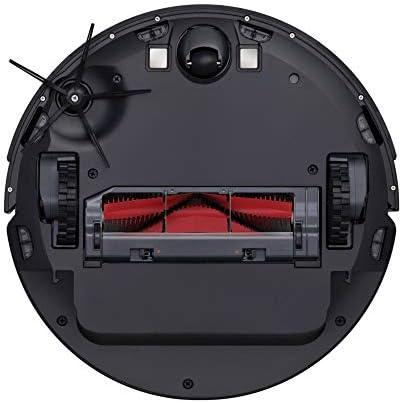 Xiaomi Aspirateur connecté X-RSD0009GL, Roborock Robot aspirateur Noir S6, sans Sac, Rond, 0,48 L, 58 DB, Tapis, Sol Dur, 150 min d'autonomie - Home Robots