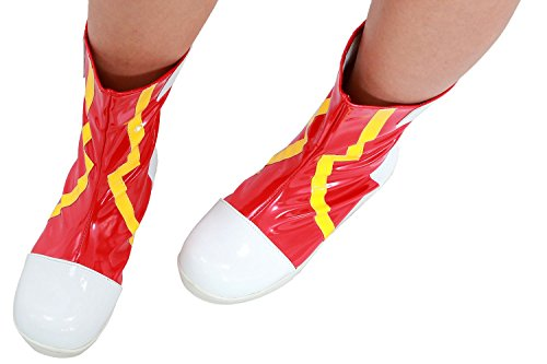 Misty Cosplay Shoes (Xcoser Misty Boots Deluxe PU Shoes Cosplay Costume Halloween Accessory)