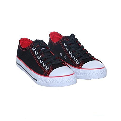 Nuovo Stile!! Sneaker Da Donna Classica Da Skate Sneaker Best Seller Black / Redcn