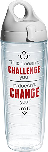 Tervis 24 oz. Challenge Water Bottle 24 oz. Water Bottle Clear by Tervis