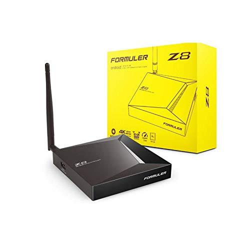 Formuler Z8 4K UHD Android OTT TV Box, Black