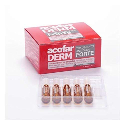 Amazon.com : Acofarderm Forte Hair Loss Ampoules 15 amp. x ...