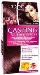Tinte Caoba 550 Casting Creme Gloss LOreal: Amazon.es ...