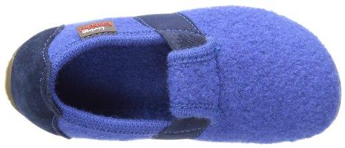 Living Kitzbühel T-Modell Jungen Flache Hausschuhe Blau (590 nachtblau)