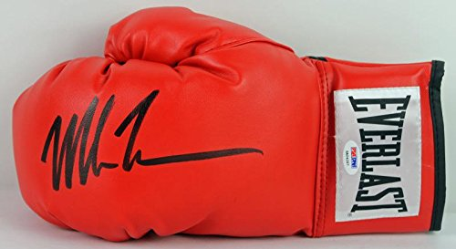 Mike Tyson Authentic Signed Boxing Glove Autographed In Black PSA/DNA ITP 2