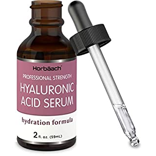 Hyaluronic Acid Serum for Face & Skin | 2 oz | Paraben & SLS Free Moisturizer | By Horbaach