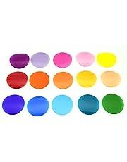 Godox V-11C Color Filter, Juego de 30 Accesorios de Filtro de Color para Godox AK-R1 Godox S-R1 Flash Godox V1 Godox AD200 Godox AD200pro