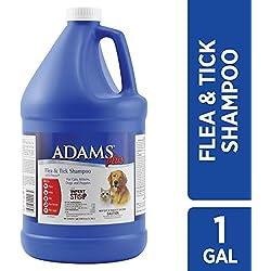Adams Plus Flea and Tick Dog and Cat Shampoo with Precor, 1-Gallon