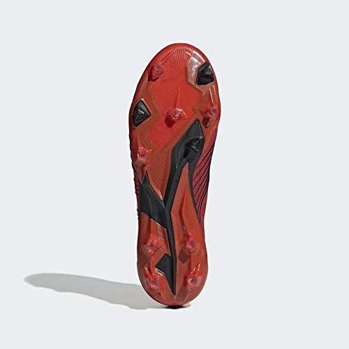 adidas Predator 19.1 Fg, Scarpe da Calcio Uomo, Multicolore (Rojact/Rojsol/Negbás 000), 44 2/3 EU