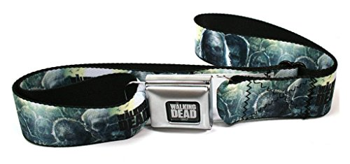Buckle-Down Seatbelt Belt - THE WALKING DEAD Zombies - 1.5