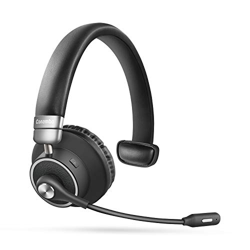 Bluetooth Headset 5.0, Pro 24 Hrs Talktime Noise...