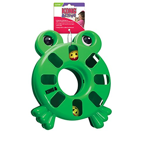 Frog Kong Cat - KONG Puzzle Toy - Frog