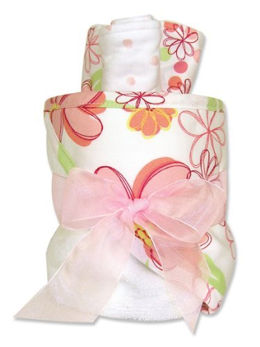 Trend Lab Hooded Towel Gift Cake, Hula Baby Color: Hula Baby NewBorn, Kid, Child, Childern, Infant, Baby