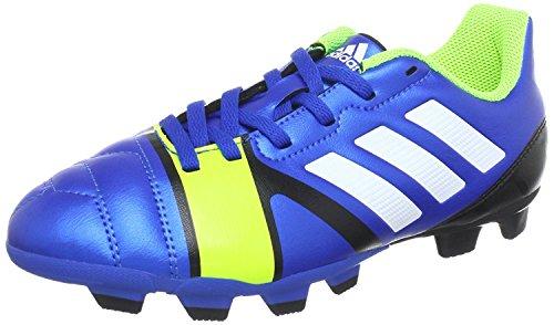 adidas Performance nitrocharge 3.0 TRX FG J - Zapatos de fútbol de material sintético niño azul - amarillo