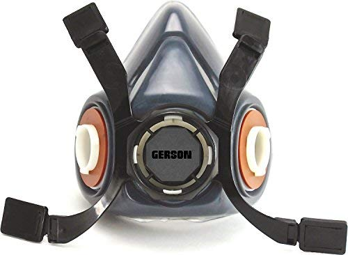 Gerson Silica & Concrete Dust Respirator Kit with Pancake Filters - Signature Pro Series (Large) by Signature Professional Series (Image #1)
