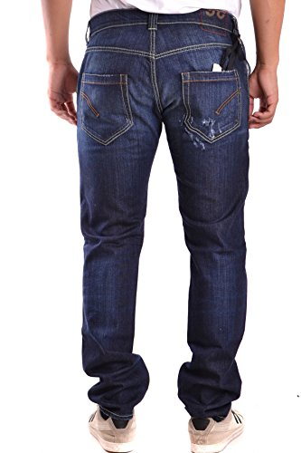 Dondup Herren MCBI100059O Blau Baumwolle Jeans